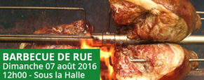 Barbecue de rue