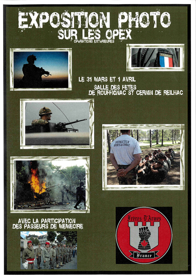 Exposition-photos-Opex-association-Freres-armes-Rouffignac-Dordogne