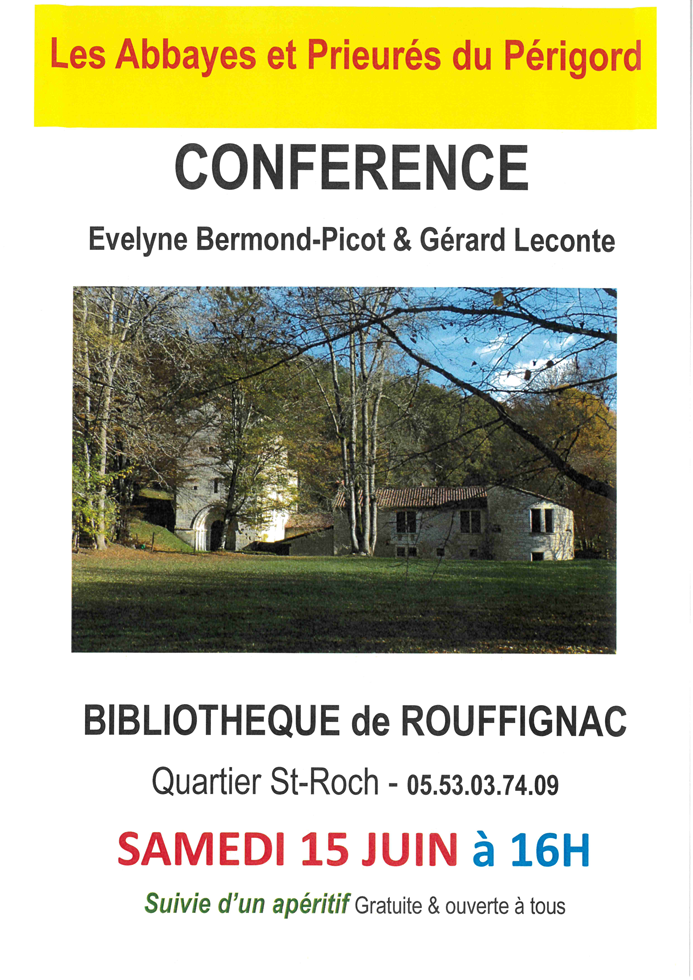 Conference-Abbayes-Prieures-Perigord-Rouffignac-Dordogne